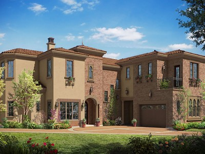 Villa for sales at Elegant Mediterranean 19 Alamo Springs Court Danville, California 94526 Stati Uniti