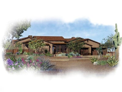 Casa Unifamiliar for sales at New Construction - Bob Bacon Designed Southwestern Ranch Style Home 8555 E Tecolote Circle  Scottsdale, Arizona 85266 Estados Unidos