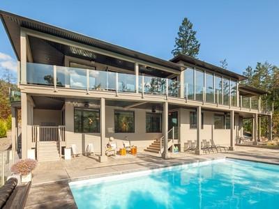 Частный односемейный дом for sales at Aspen Road Oceanfront 1081 Aspen Road  Victoria, Британская Колумбия V0R2L0 Канада