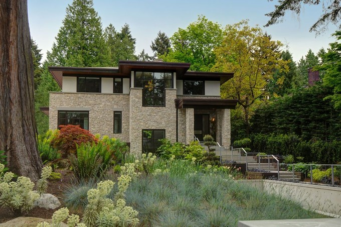 Single Family Home for sales at Stunning Contemporary Family Home 6350 Macdonald Street Vancouver, British Columbia V6N1E6 Canada