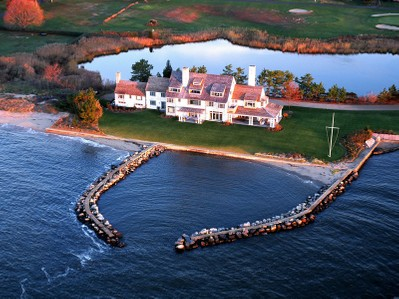 Single Family Home for sales at Katharine Hepburn's Former Estate 10 Mohegan Avenue Old Saybrook, Connecticut 06475 United States
