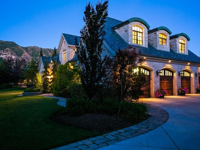 Single Family Home for sales at Sophisticated Mountain Home Meets Old World France Décor 187 Stone Brook Ln  Provo, Utah 84604 United States