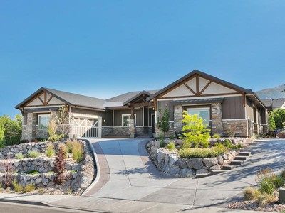 Moradia for sales at Modern Mountain Home with Breathtaking Views 2013 E Oak Summit Dr Draper, Utah 84020 Estados Unidos