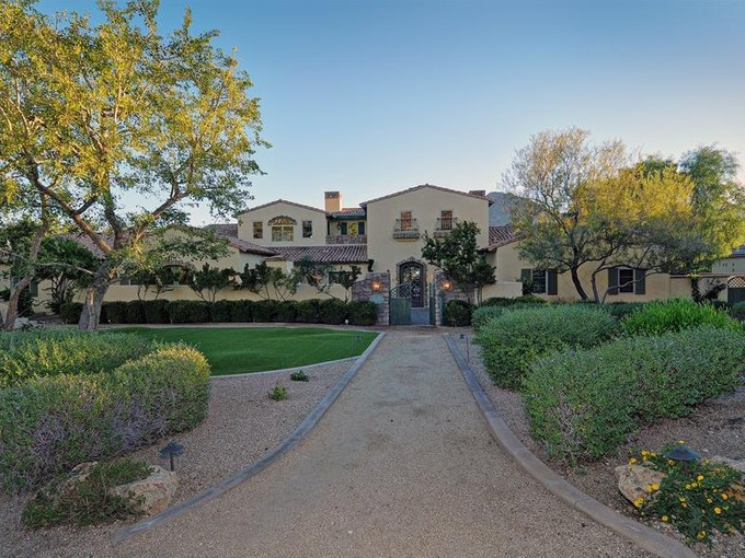 Single Family Home for sales at Romantic French Country Estate in Paradise Valley 5675 E Cactus Wren Road   Paradise Valley, Arizona 85253 United States