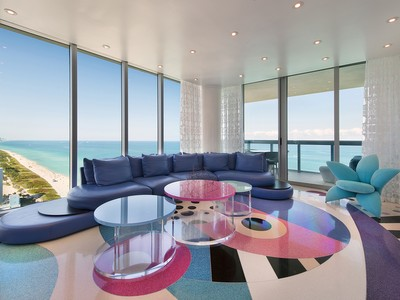 Appartement en copropriété for sales at Canyon Ranch 2704 6899 Collins Ave 2704 Miami Beach, Florida 33141 États-Unis