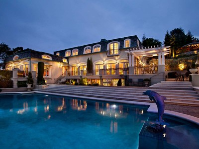 Single Family Home for sales at Spectacular French Manor Estate in Palo Alto  Palo Alto, California 94306 United States