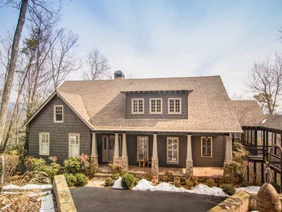 Single Family Home for sales at Sweeping Mountain Views 198 Black Bear Ridge Big Canoe, Georgia 30143 United States