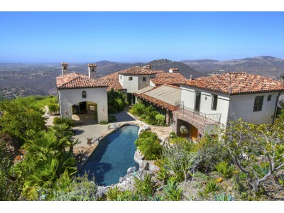Maison unifamiliale for sales at 7839 Camino de Arriba   Rancho Santa Fe, Californie 92067 États-Unis