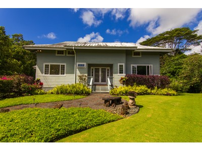 Casa Unifamiliar for sales at Custom Home with Privacy 322 Kanae Place  Kapaa, Hawaii 96746 Estados Unidos