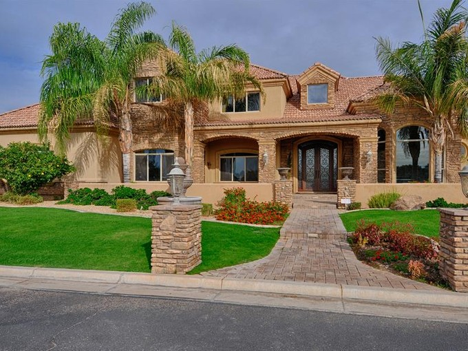Single Family Home for sales at Magnificent Home in Mesa's Hermosa Groves 3446 E Knoll Street Mesa, Arizona 85213 United States