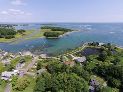 Single Family Home for sales at Delightful Bay-Front Setting with Ocean Views 75 Turbats Creek Kennebunkport, Maine 04046 United States