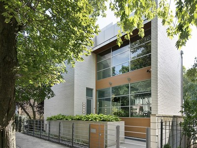 Single Family Home for sales at Incredible Modern Masterpiece 2041 W Cortland Street  Chicago, Illinois 60647 United States