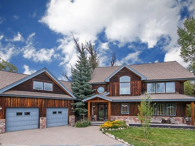 Maison unifamiliale for sales at Deerfoot Art Park Home 750 Deerfoot Arts Park Dr. Steamboat Springs, Colorado 80487 United States