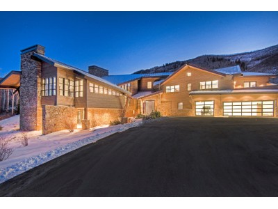 Single Family Home for sales at Newly Finished Mountain Contemporary Masterpiece 21 Canyon Court   Park City, Utah 84060 United States