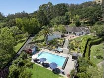 Casa Unifamiliar for sales at Prestigious Gated Estate 76 Moncada Way   San Rafael, California 94901 Estados Unidos