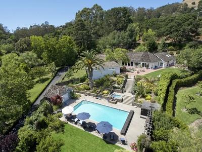 Single Family Home for sales at Prestigious Gated Estate 76 Moncada Way San Rafael, California 94901 United States