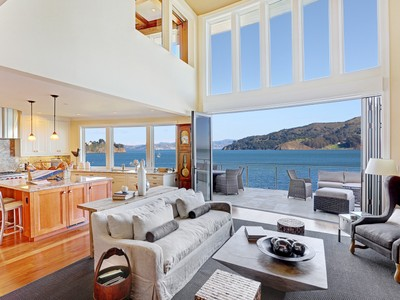 Vivienda unifamiliar for sales at Rare Sausalito Waterfront Luxury Home 40 Alexander Avenue Sausalito, California 94965 Estados Unidos