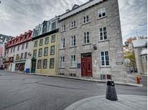 Кооперативная квартира for sales at Old Quebec 38, des Jardins, #1   Quebec, Квебек G1R4L7 Канада
