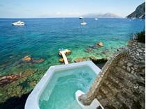 Single Family Home for sales at Astonishing villa in capri island with private sea access  Capri, Naples 80073 Italy