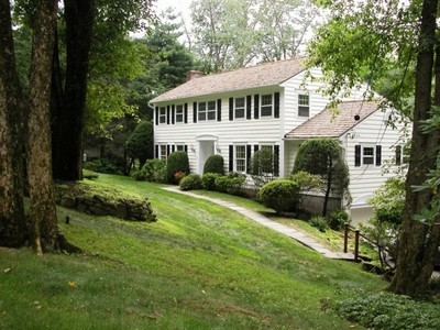 Single Family Home for sales at Teasdale Built Colonial 1 Hilltop Circle Chappaqua, New York 10514 United States