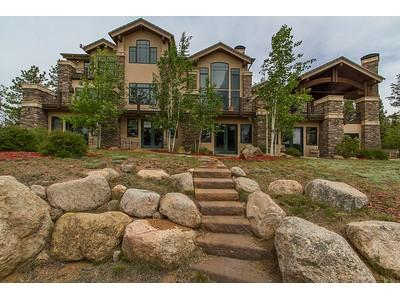 Maison unifamiliale for sales at 4145 Omer Road  Divide, Colorado 80814 États-Unis