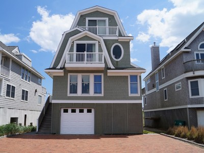 Single Family Home for sales at Oceanfront Beauty in the Dunes 807 Dune Road  Westhampton Dunes, New York 11978 United States