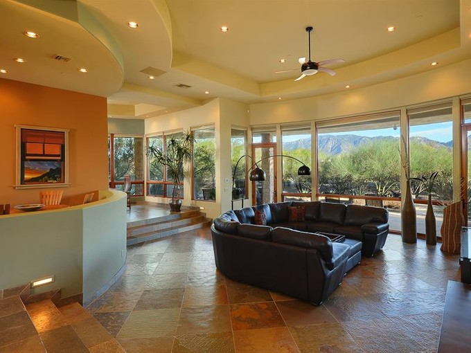 Single Family Home for sales at Unparalleled Architecture & Design in Guard Gated The Estates at Honey Bee Ridge 14410 N Silver Cloud Dr   Oro Valley, Arizona 85755 United States