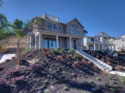 Maison unifamiliale for sales at Luxury New Construction 245 Trinidad Dr  Tiburon, Californie 94920 États-Unis