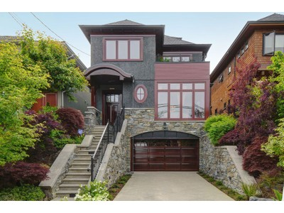 Nhà ở một gia đình for sales at Extraordinary Home In Vancouver West 4767 Trafalgar Street Vancouver, British Columbia V6L2M8 Canada