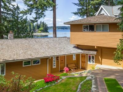 Single Family Home for sales at Manzanita Bay Waterfront 6518 NE Monte Vista Drive Bainbridge Island, Washington 98110 United States