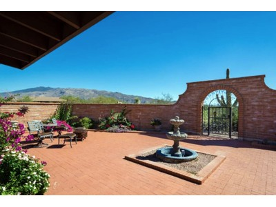 Single Family Home for sales at Charming Updated Southwest Adobe 3.68 Acre Hilltop Horse Property 11121 E Escalante Rd Tucson, Arizona 85730 United States
