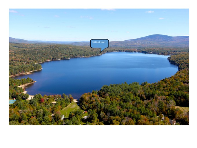 Single Family Home for sales at Extremely Private Contemporary 18 Duck Inlet Road New London, New Hampshire 03257 United States
