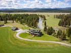 Single Family Home for  sales at Custom Farmhouse and Guest House 458 Hansen Lane Whitefish, Montana 59937 United States
