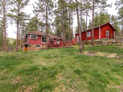 Maison unifamiliale for sales at 3255 Pinon Drive  Evergreen, Colorado 80439 États-Unis