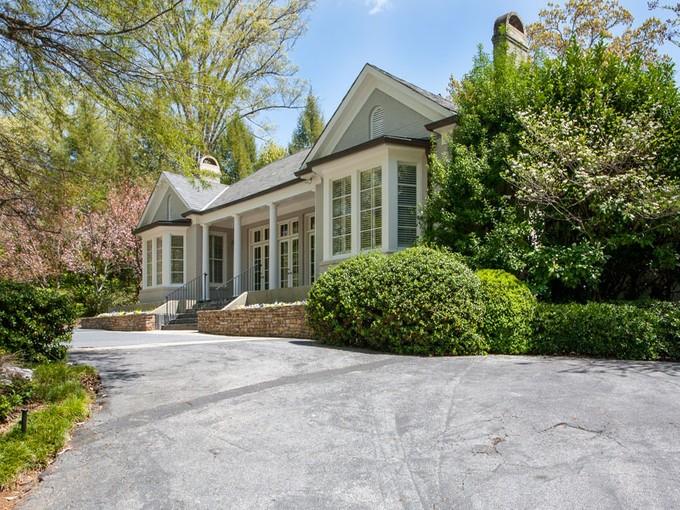 Single Family Home for sales at Elegant One Story Living In Buckhead 2817 Habersham Road NW Atlanta, Georgia 30305 United States