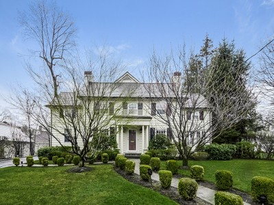 Single Family Home for sales at Classic, New Center Hall Colonial 42 Sage Terrace Scarsdale, New York 10583 United States
