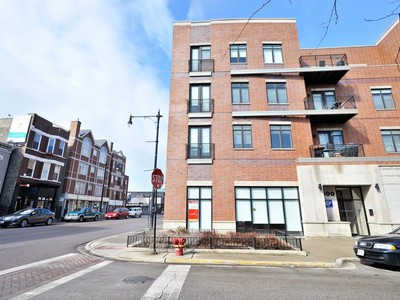 Single Family Home for sales at Stunning Corner Penthouse 1600 N Marshfield Avenue Unit 403 Chicago, Illinois 60622 United States