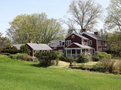 Casa Unifamiliar for sales at Breeze Hollow Farm 200 Church Hill Road Washington, Connecticut 06794 Estados Unidos