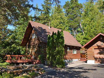 Single Family Home for sales at Charming Log Cabin 35705 Clipper Ct. Manzanita, Oregon 97130 United States