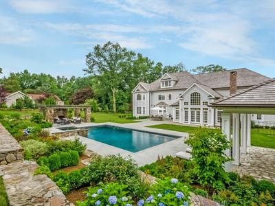 一戸建て for sales at Magnificent Shingle Style Home 82 Buckingham Ridge Road  Wilton, コネチカット 06897 アメリカ合衆国