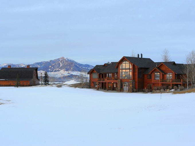 Single Family Home for sales at Fabulous Estate on Trooper Trail 9355 Trooper Trail Bozeman, Montana 59715 United States