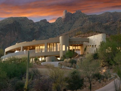 一戸建て for sales at Visually Stunning Contemporary Masterpiece Unsurpassed In Views 7164 N Mercer Spring Tucson, アリゾナ 85718 アメリカ合衆国