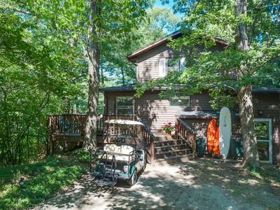 Einfamilienhaus for sales at Perkins 46109 Perkins Boulevard New Buffalo, Michigan 49117 Vereinigte Staaten