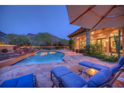 Maison unifamiliale for sales at One Of The Most Dramatic Mountain And Golf Course Views In All Of DC Ranch 9820 E Thompson Peak Pkwy #656  Scottsdale, Arizona 85255 États-Unis