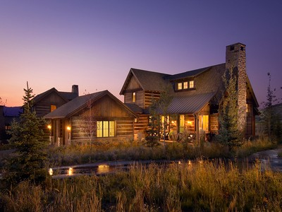 Maison unifamiliale for sales at Luxury Promontory Trappers Cabin with a Fully Sponsored Club Membership 2917 Quick Draw Lot 29  Park City, Utah 84098 États-Unis