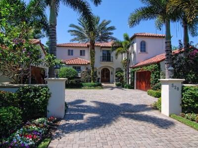Maison unifamiliale for sales at 528 Bald Eagle Drive at The Ritz Carlton Club & Residences  Jupiter, Florida 33477 États-Unis
