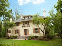 Einfamilienhaus for sales at Grand Center Hall Colonial 175 South Mountain Avenue   Montclair, New Jersey 07042 Vereinigte Staaten