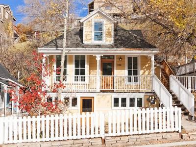 Moradia for sales at Historic Old Town Charm 338 Marsac Ave Park City, Utah 84060 Estados Unidos
