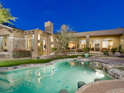 Single Family Home for sales at Beautiful Home in Guard Gated DC Ranch Country Club 9290 E Thompson Peak Pkwy #1074 Scottsdale, Arizona 85255 United States