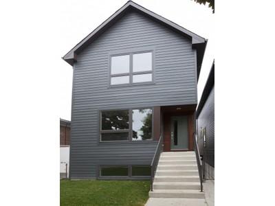 단독 가정 주택 for sales at Contemporary New Construction 4123 N Ridgeway Avenue  Chicago, 일리노이즈 60618 미국